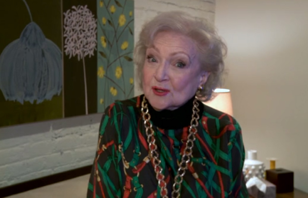 Betty White visits The Daily Show